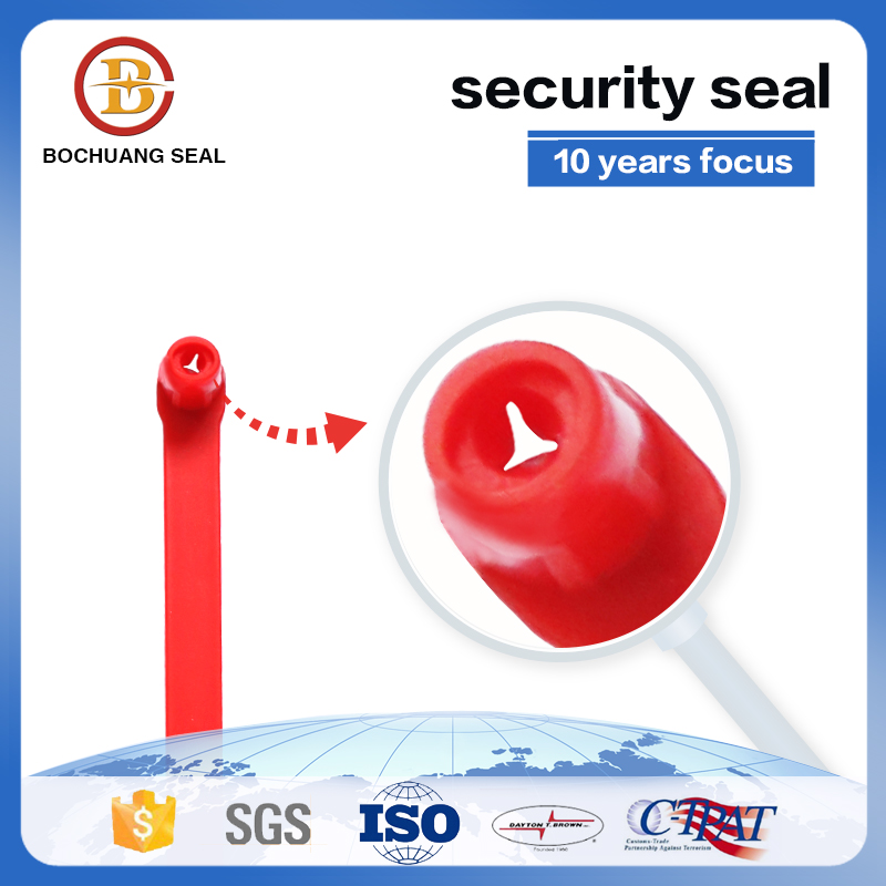 Hot sale fixed length plastic security seals BC-P601