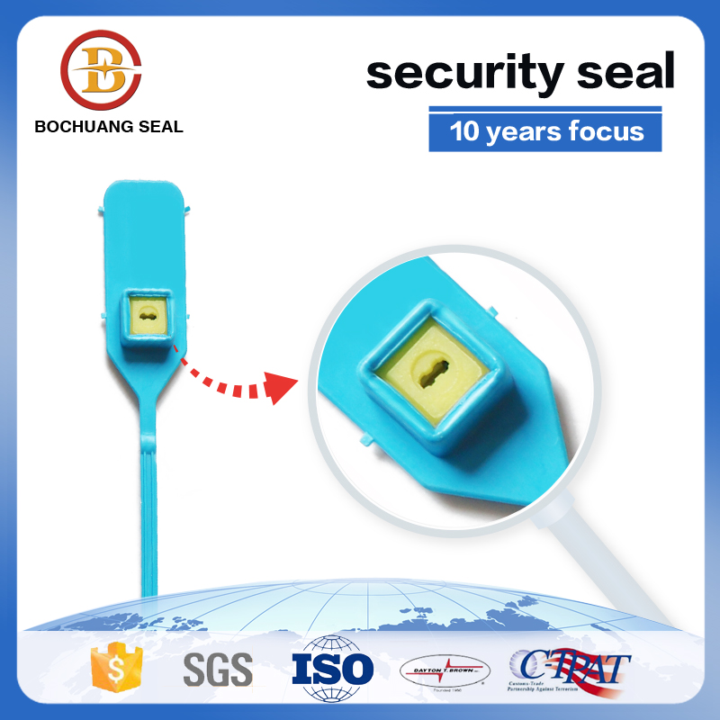 plastic security seals with barcode