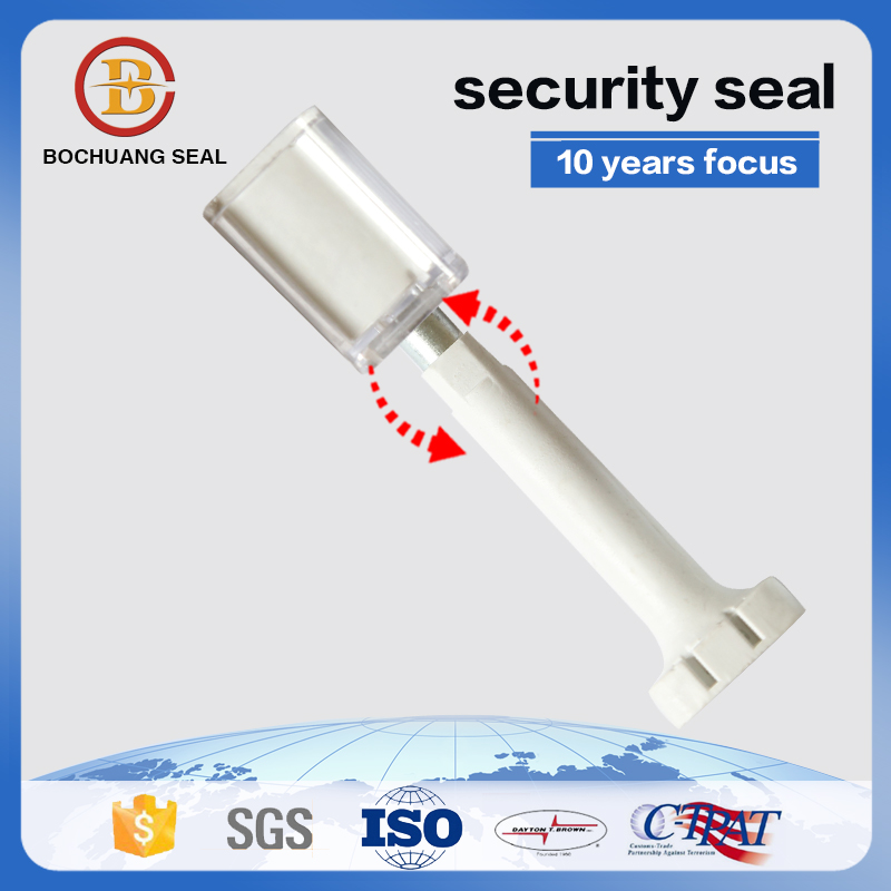 B406 plastic container bolt seal for containers