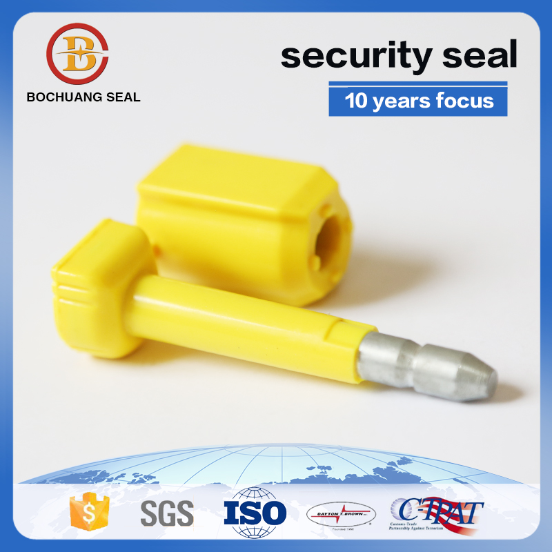 high security bolt seals for shipping containers with series numbes B201