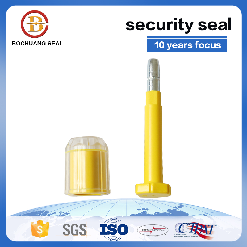 High security container seal Complies with ISO PAS 17712