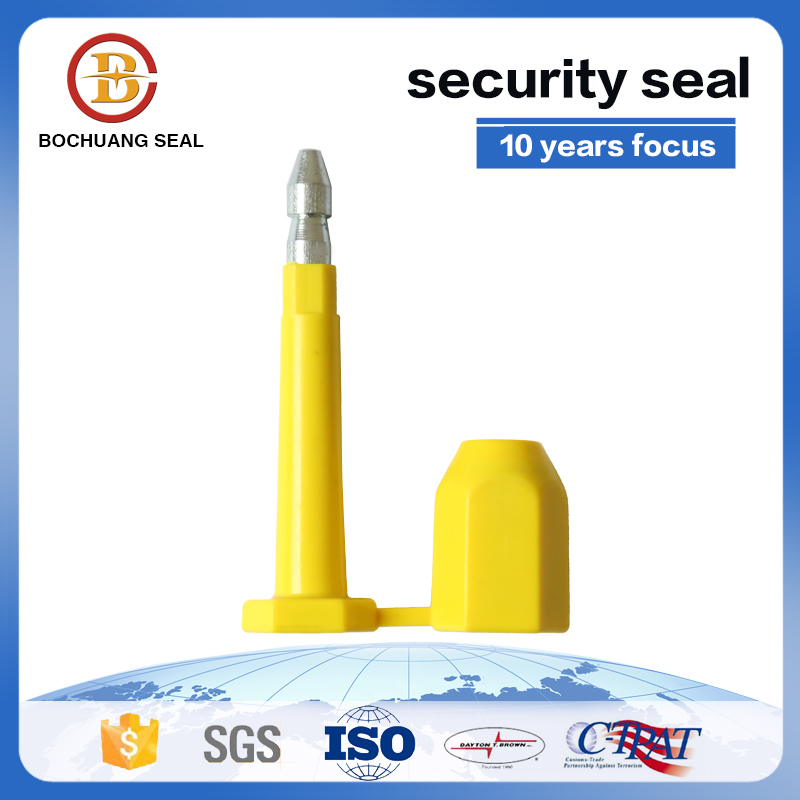 Compliant high security bolt seal Bolt seal