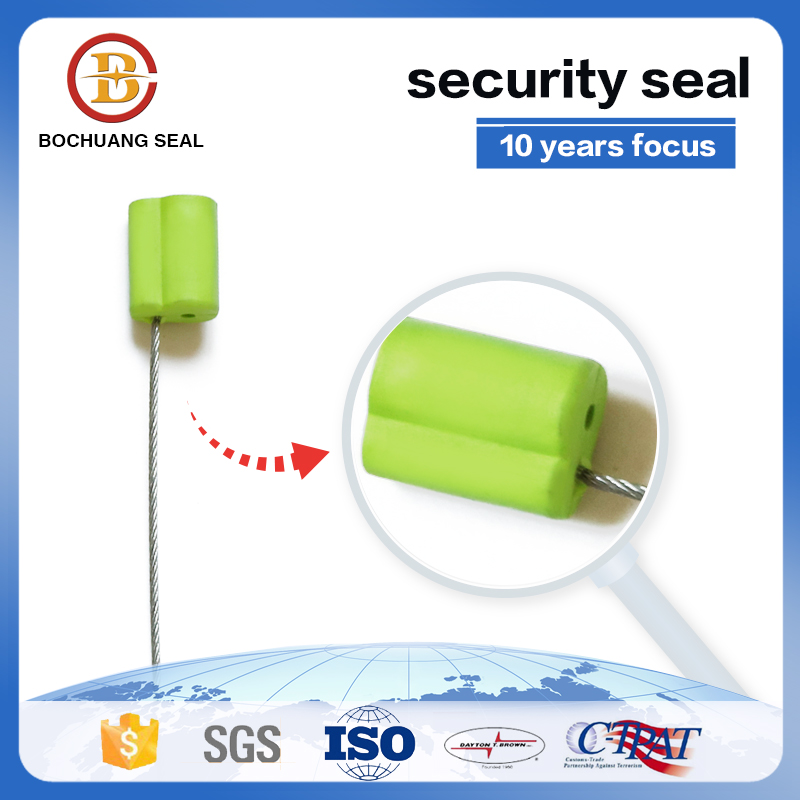 Pull Tight Adjustable Length Cable Wire Seal for Bank Cash Box