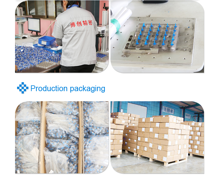workshop and packaging