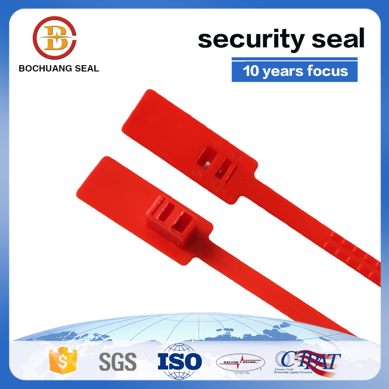Double lock Plastic bag security Seal