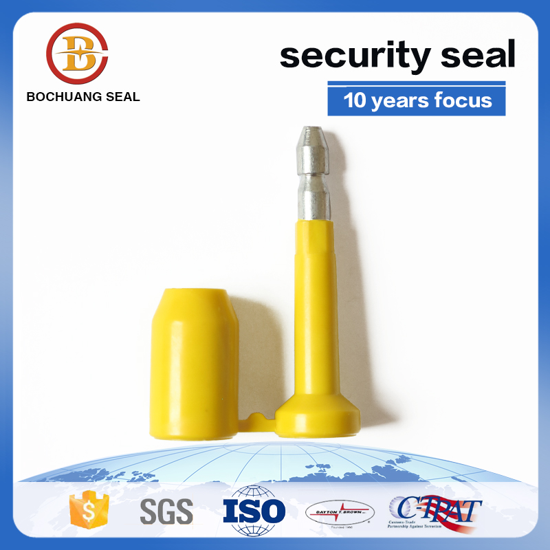Bolt seal High Security Steel Bolt Lock Anti-Spin Feature
