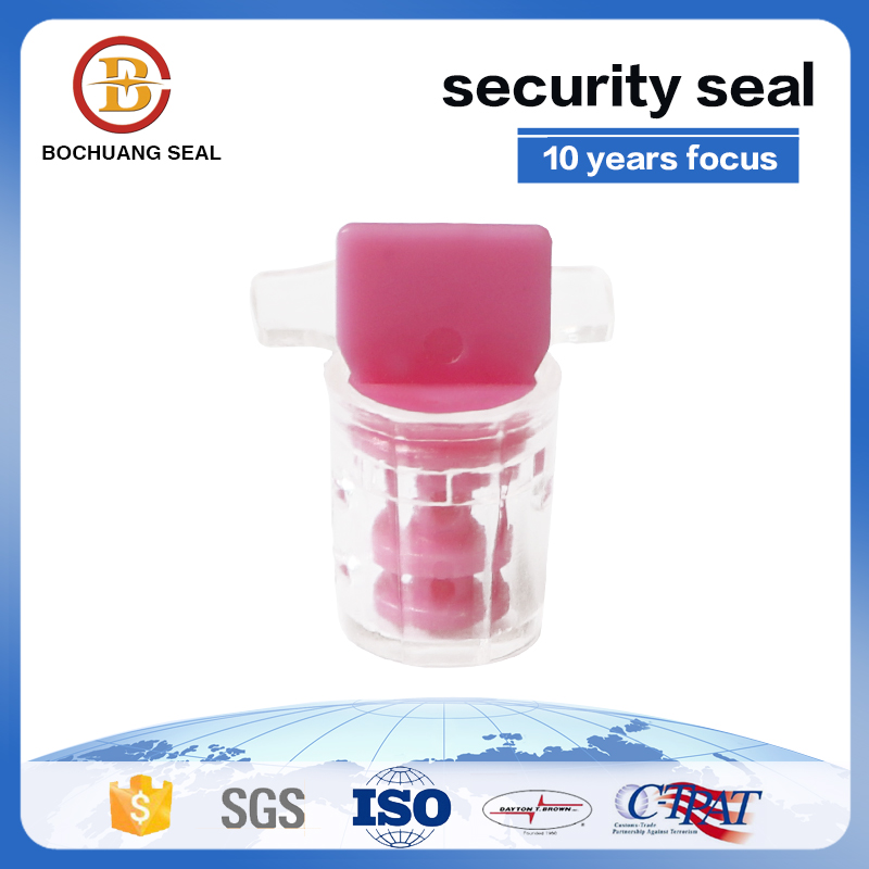 Anti-reverse clock wise lock high security utility twist plastic meter seal