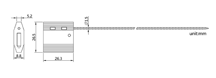 cable seals CAD