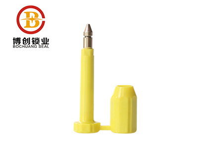 7mm yellow color container bolt lock seal B304