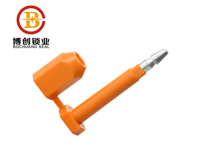 high security bolt seal with barcode printing B205