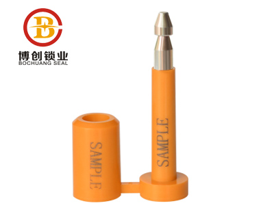 high security self sealing bolt seal with series numbers B104