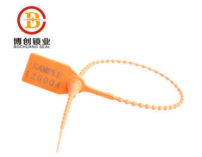 BC-P504  Bamboo pull tight strap plastic seals plastic security seal