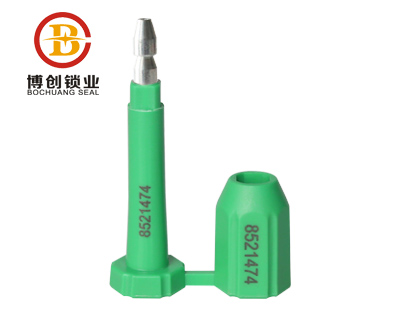 ISO17712 Color Plastic Bolt container seal BC-B301