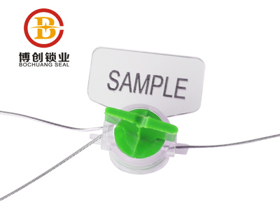 tamper evident one time used electric meter seal M101