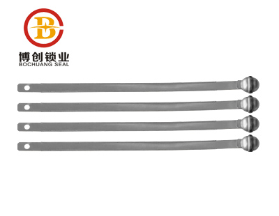 BC-S102  circular shaped head metal strap seal