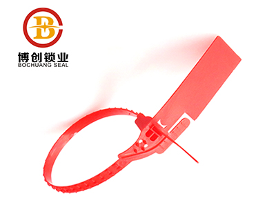 BC-P202 Tear Off Plastic Tamper Proof Seal Color Available